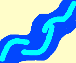 Yay! A River!