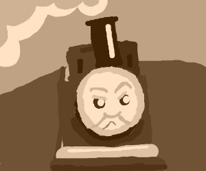 Thomas the train going full reckless