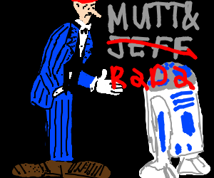 Mutt and c3po switch places