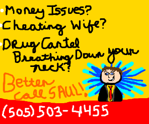 Better call Saul billboard!