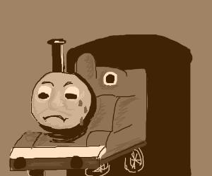 thomas the sad tank engine