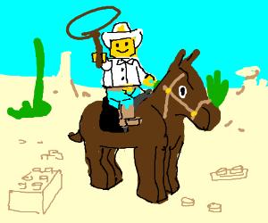 Cowboy lego man!