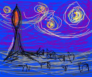 Starry Night in Mordor