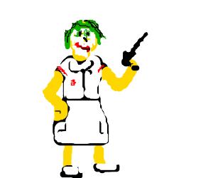 Simpsons style Joker