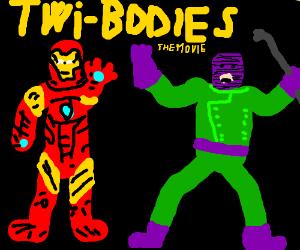 IronMan & the Wrecker in Twi-Bodies movie