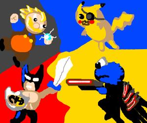 The Ultimate Showdown (Of Ultimate Destiny) II