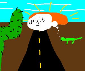 small lizard in legit climit