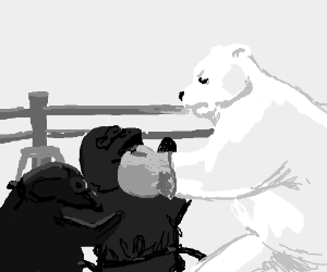 Polar bear boxes 2 Ninja Penguins