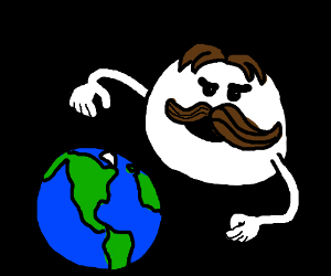 Julius Pringles invades Earth