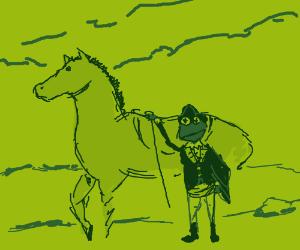 Kermit was an officer in the revolutionary war