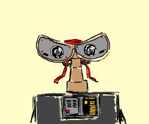 Wall-E wants to be Rambo