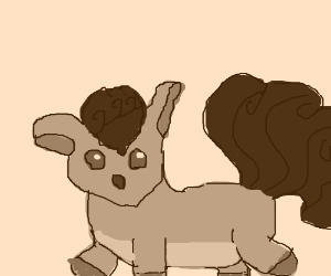 Adorable vulpix is adorable.