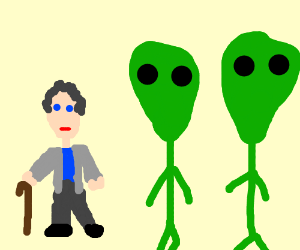 House and the aliens