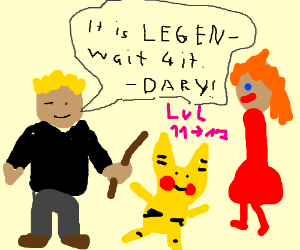barney kills pikachu and is absorbed by kirby