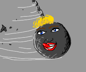 Miley Cyrus is a wrecking ball.