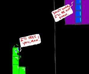 tetris man calls for his mama