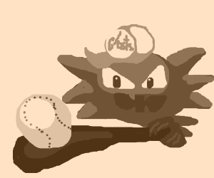 Haunter's trying out for the baseball team