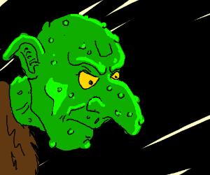 Warty troll
