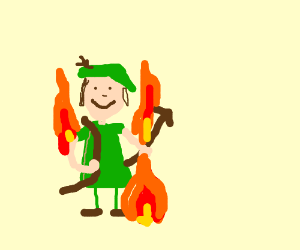Burning Robin Hood