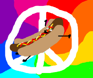 Hot Dogs for Peace