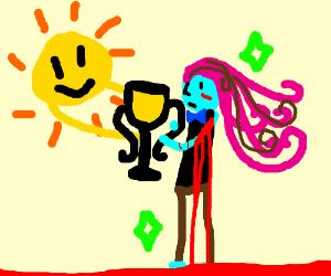 Sun awarding mr bleeding pubic hair universe