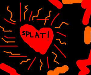 Valentine explosions.