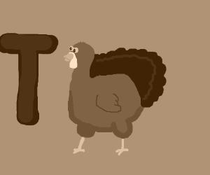 T for Thanksgiving film.