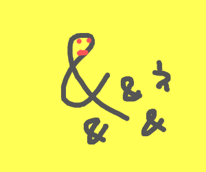 "Family of ""&"" symbols"