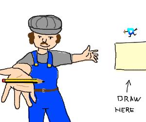 Choo! Choo! Choose a random thing to draw!