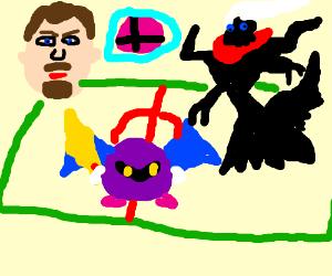 Stuart Ashen vs. Meta Knight vs. Darkrai!