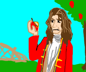 Sir Issac Newton takes over Apple.