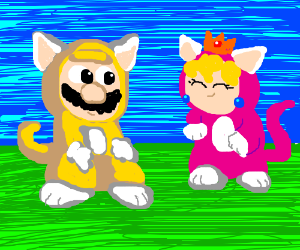 Super Mario 3D World's Cat Mario