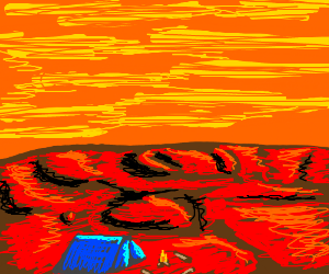 Camping on Mars