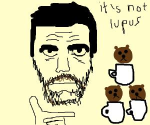 Mr. House stacks bearcups like Legos