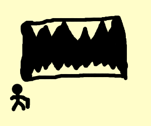 mouth cave