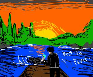 Bury In Lake