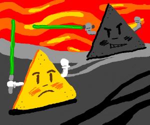 dorito chip vs shadow dorito chip on volcano