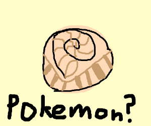 the helix fossil (pokemon?)