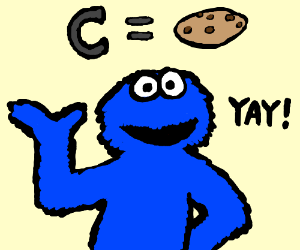 C is for cookie. Yay!