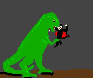 T-rex VS Dracula