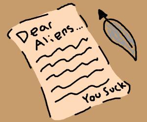 Letter to Aliens