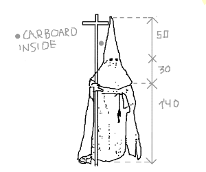 Blueprints: Klan Members are made of Carboard