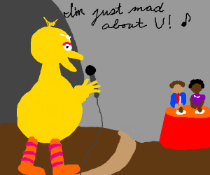 Big Bird debuts as a cabaret singer