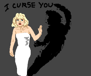 courtney love is cursed by her shadow