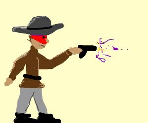 red masked vigilante