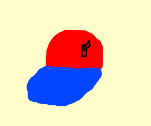 A baseball cap with a switch on it