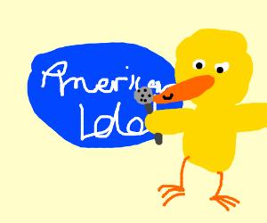 big bird on american idol