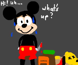 "Killer Mickey Mouse ""What's Up?"""