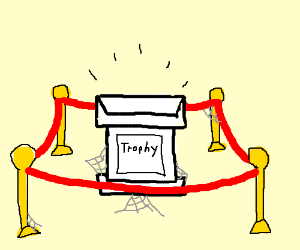 Empty Trophy Case Drawing By Rene345