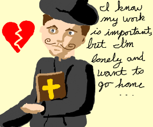 Dapper crying for love while in missionary